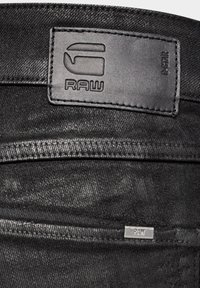 G-Star - 3301 MID SKINNY - Jeans Skinny Fit - black radiant cobler restored - 2