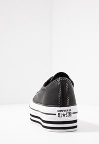 Converse - CHUCK TAYLOR ALL STAR LAYER BOTTOM - Trainers - black/white - 5