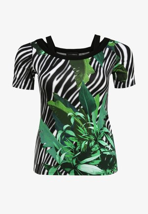 T-shirt print - gras