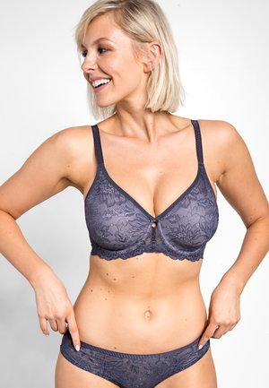 AMOURETTE CHARM - Triangle bra - pebble grey