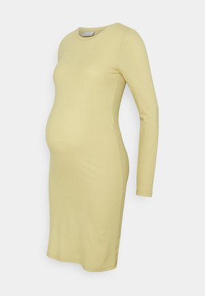 Pletené šaty - sage green