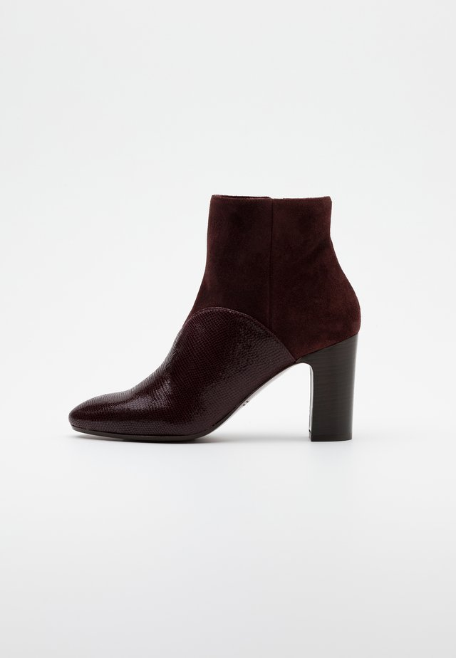 ENDA - Ankle boots - grape