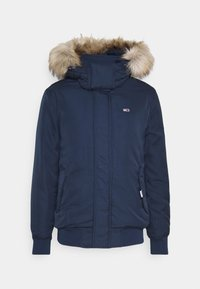 Tommy Jeans - TECH BOMBER UNISEX - Winter jacket - twilight navy - 9