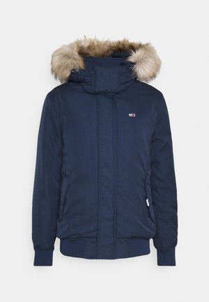 TECH BOMBER UNISEX - Winter jacket - twilight navy