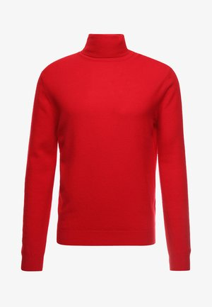 BASIC ROLL NECK - Trui - red