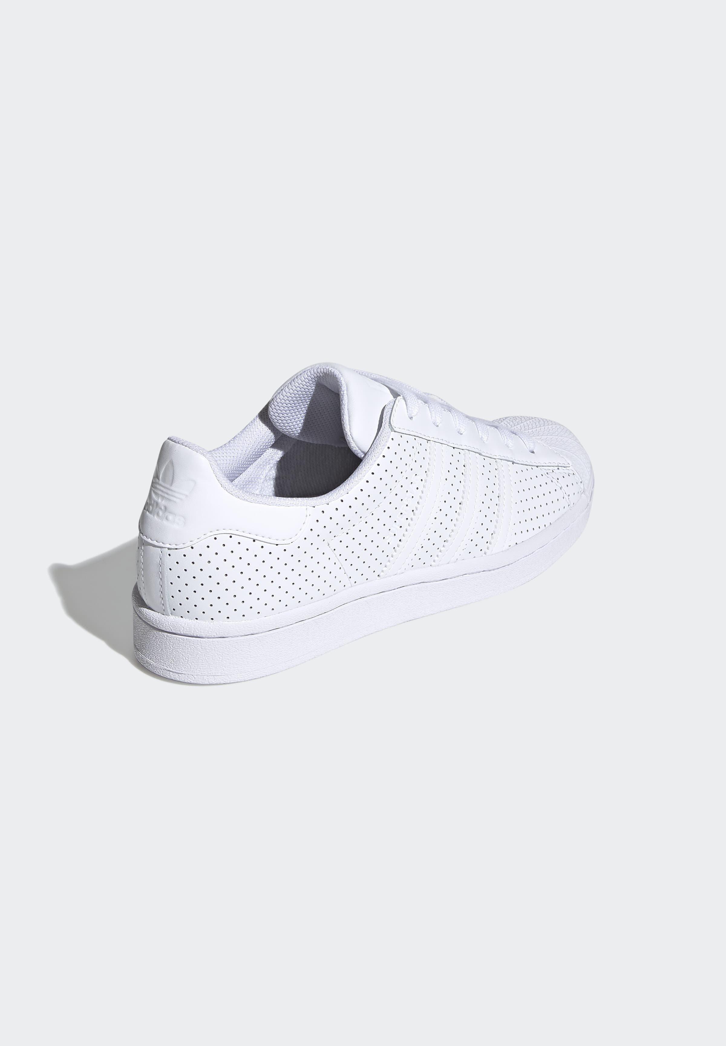 adidas Originals SUPERSTAR SHOES - Joggesko - white