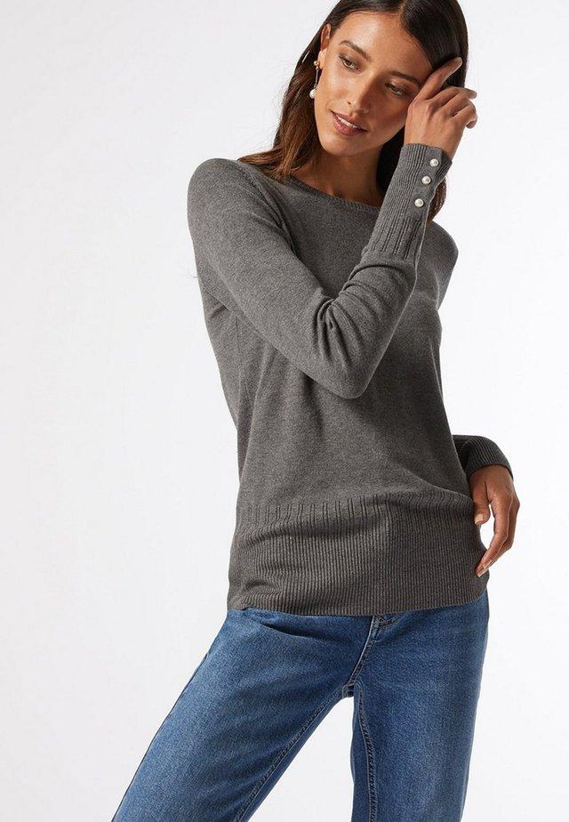 PEARL CUFF - Sweter - grey