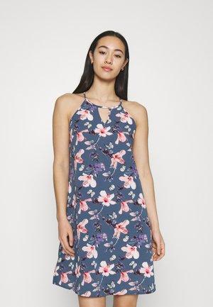 ONLNOVA LUX LIMBO DRESS - Day dress - vintage indigo