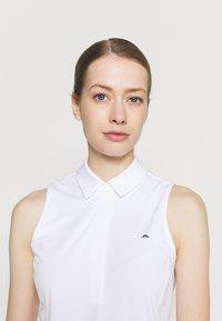 J.LINDEBERG - DENA SLEEVELESS GOLF  - Polo shirt - white - 3