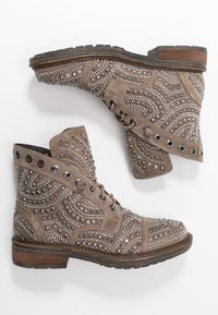 Alma en Pena - Lace-up ankle boots - taupe - 3