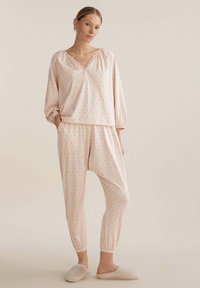 OYSHO - FLORAL  - Pyjama top - rose - 1