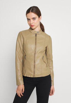 ONLMELISA  - Faux leather jacket - elmwood