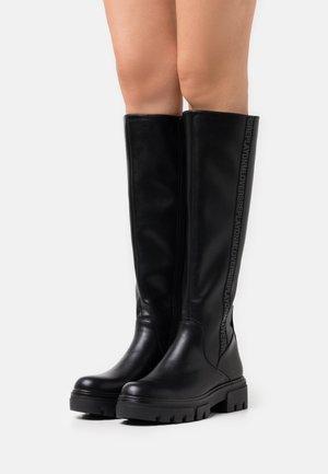 ELLENDAL - Platform boots - black