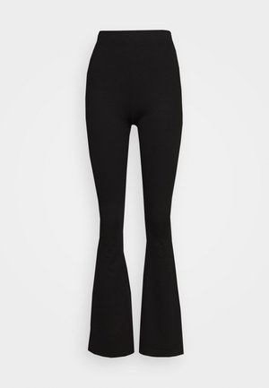 FLARE PANT - Leggings - Hosen - black