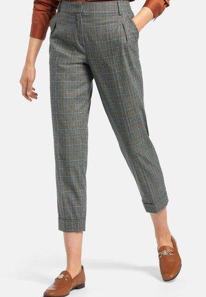 Trousers - grau/multicolor