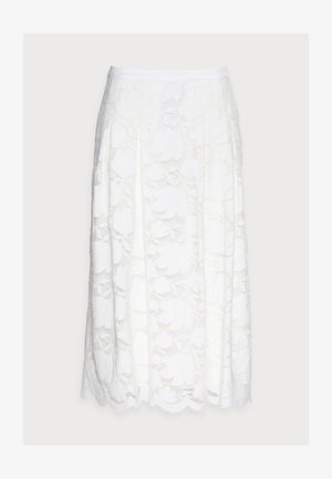 SKIRT - A-line skirt - off white