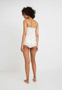 Lauren Ralph Lauren - CAMI TAP PANT SET - Pyjama set - ivory - 2