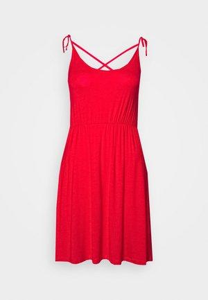 Jersey dress - goji berry