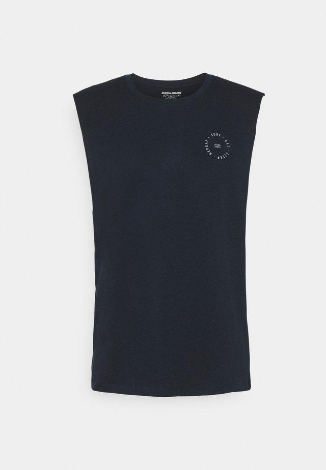 JORTAHOE SLEEVELESS TEE - Top - navy blazer