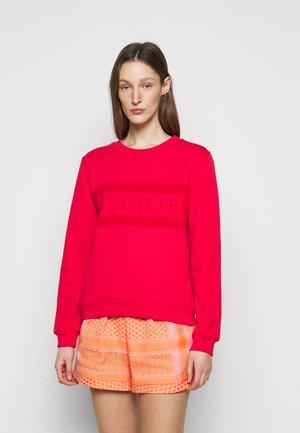 MANILA - Sweatshirt - tomato