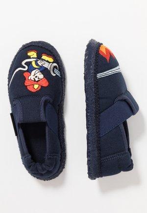 FEUERWEHR - Slippers - dunkelblau