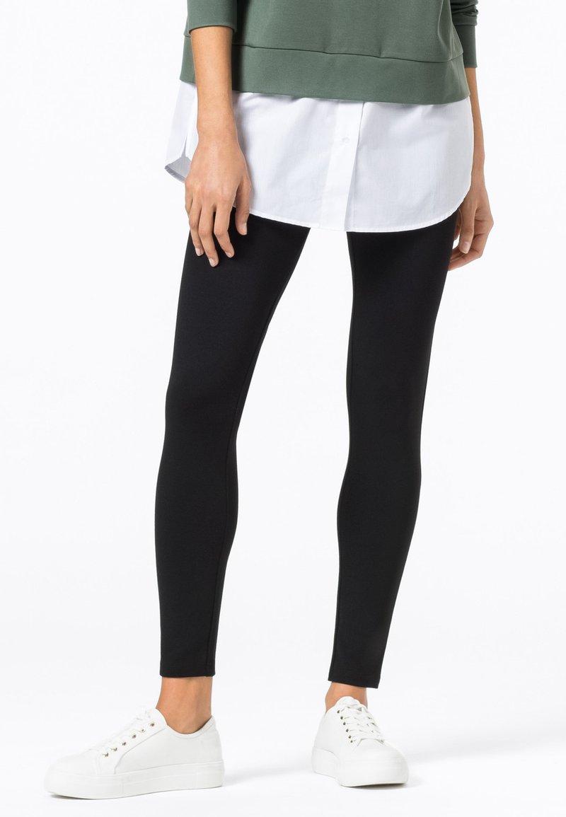 HALLHUBER - BASIC - Leggings - Trousers - schwarz