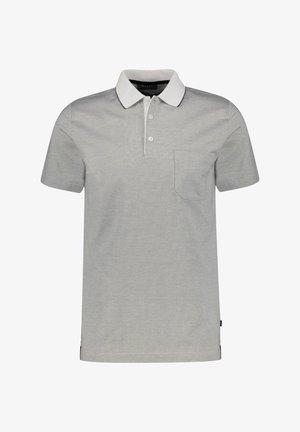 Polo shirt - light grey/white