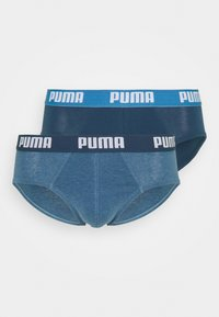 Puma - BASIC BRIEF 2 PACK - Briefs - denim - 3
