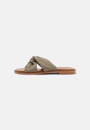WILMA  - Mules - off white/green