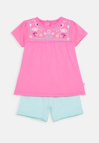 Staccato - BABY TUNIKA SET - Leggings - Trousers - pink/mint - 0