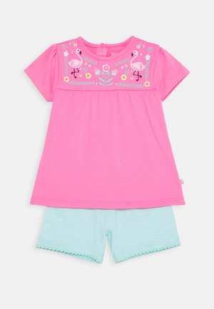 BABY TUNIKA SET - Leggings - pink/mint