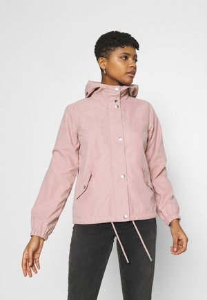 JDYNEWHAZEL SHINE JACKET - Summer jacket - woodrose