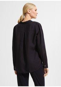 comma - Button-down blouse - dark blue - 2