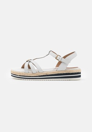 Platform sandals - offwhite