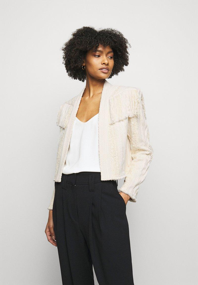 Iro - TEVA JACKET - Summer jacket - off-white/beige