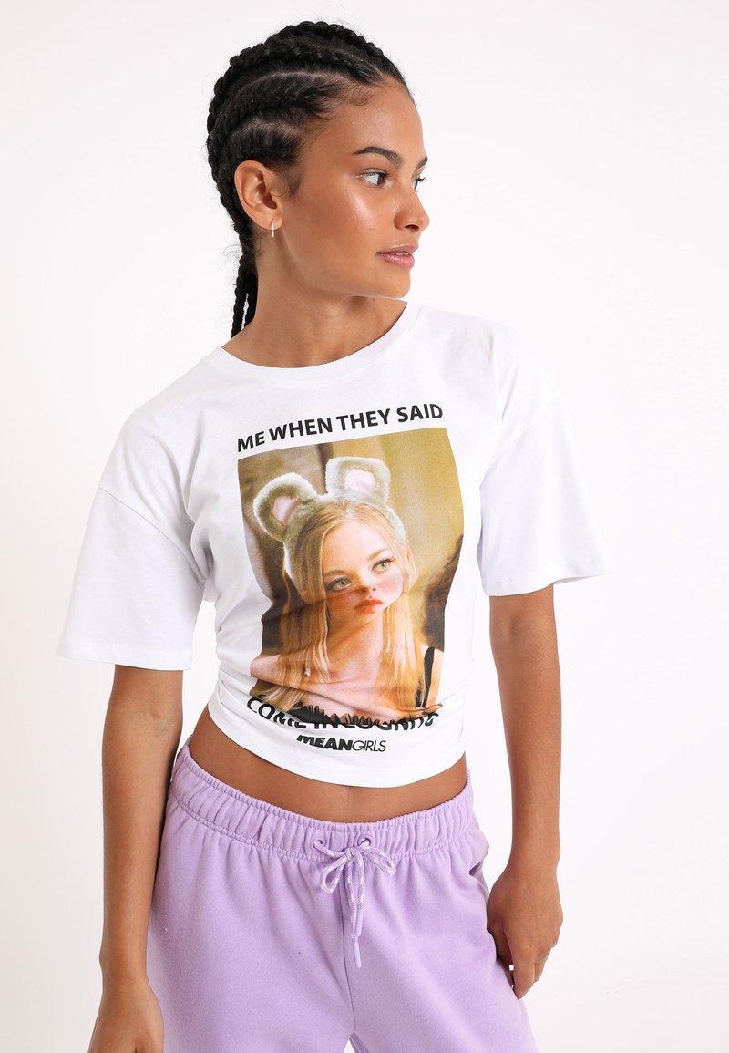Pimkie - Print T-shirt - naturweiß