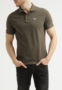 Barbour - TARTAN  - Polo shirt - dark olive/classic