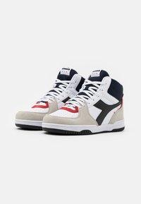 Diadora - RAPTOR UNISEX  - Sneakers high - white/corsair - 1