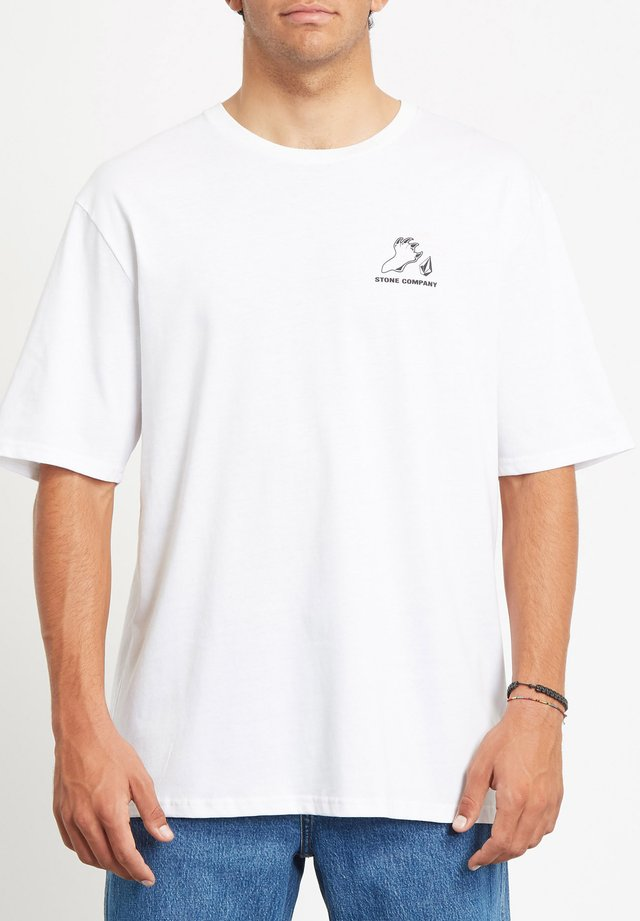 KITTYKAT RLX SS - T-shirt imprimé - white