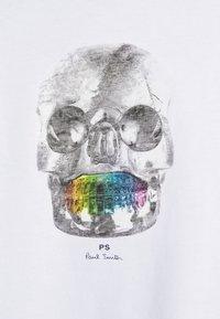 PS Paul Smith - MENS REGULAR  FIT SKULL - Print T-shirt - white - 6