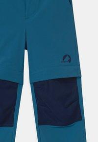 Finkid - URAKKA MOVE 2-IN-1 UNISEX - Outdoor trousers - seaport - 3