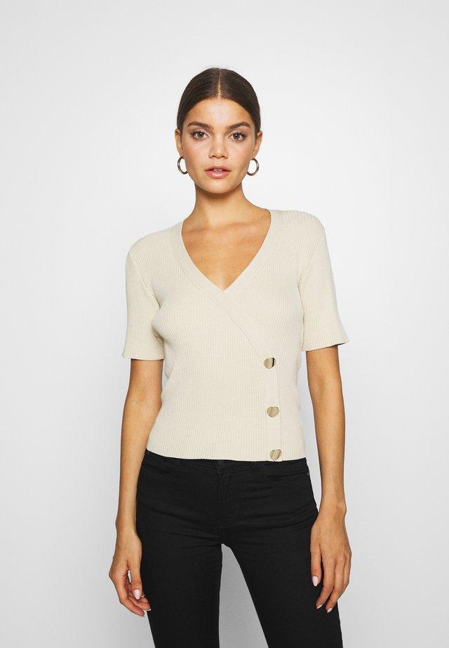 GIULIA - T-shirt z nadrukiem - beige