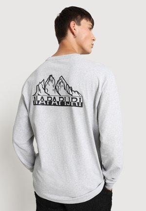 SARETINE - Pitkähihainen paita - light grey melange