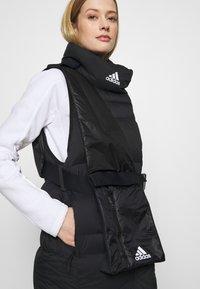 adidas Performance - URBAN COLD.RDY OUTDOOR DOWN VEST - Veste - black - 6