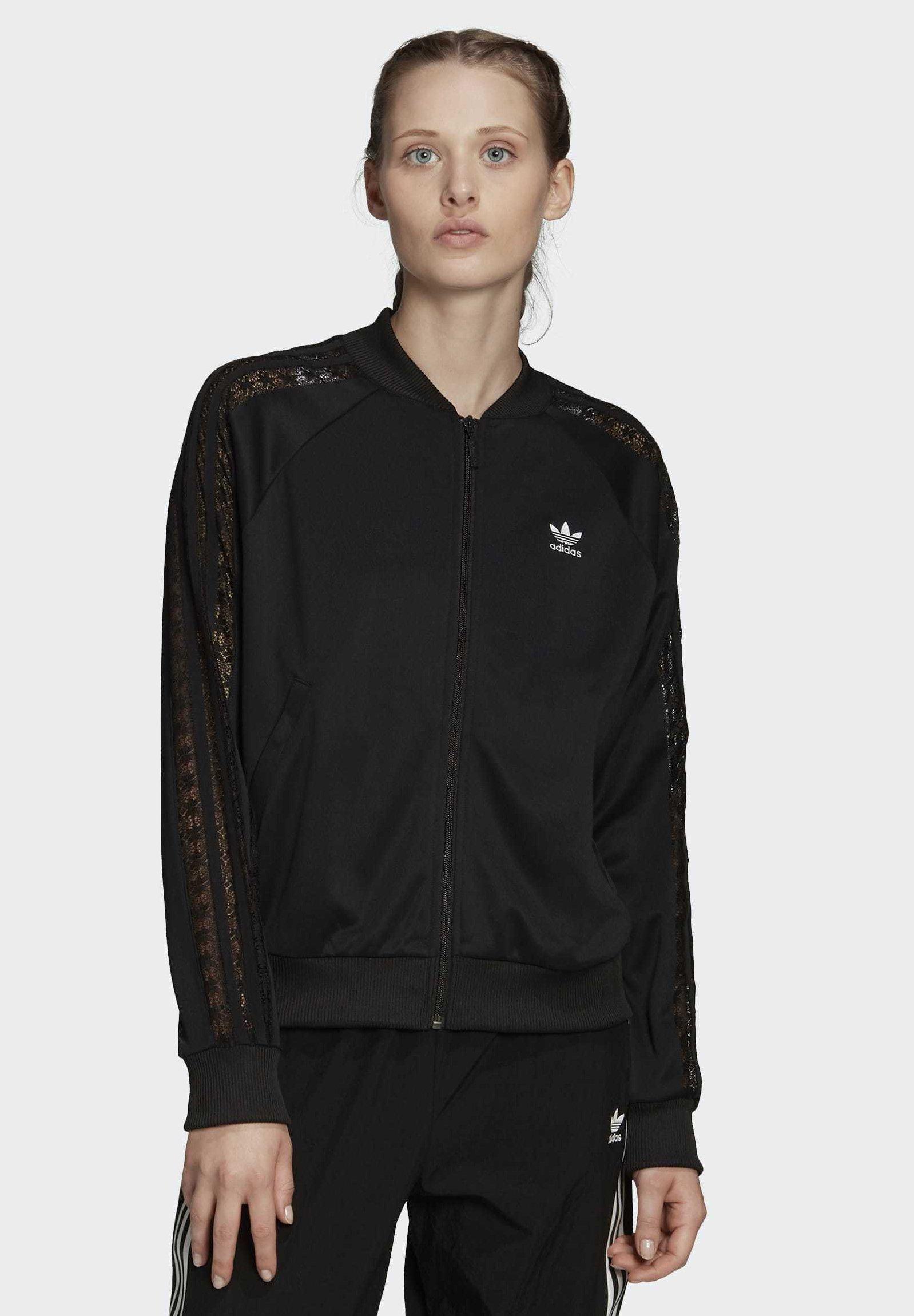 Adidas Bomberjacke Damen black im Online Shop von