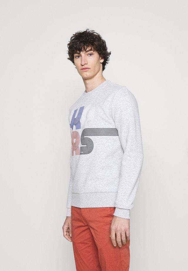 STACKED STRIPED - Sweatshirt - opal heather