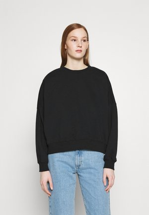 HARPER BOXY CREW - Sweatshirt - washed black