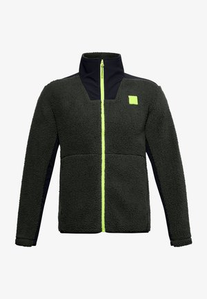 LEGACY SHERPA SWACKET - Fleece jacket - baroque green