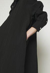 Hope - FREE SCARF - Sukienka koszulowa - black - 3