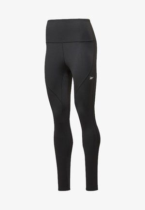 REEBOK LUX PERFORM HIGH-RISE TIGHTS - Medias - black